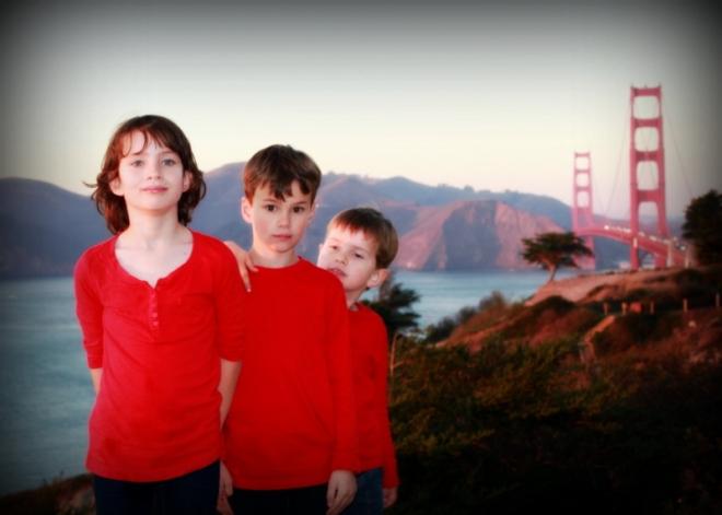 A little detour through the Presidio in San Francisco