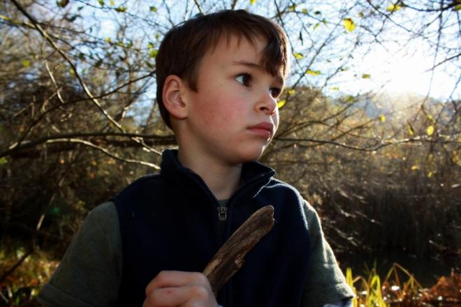 Ronin, wishing for a longer hike