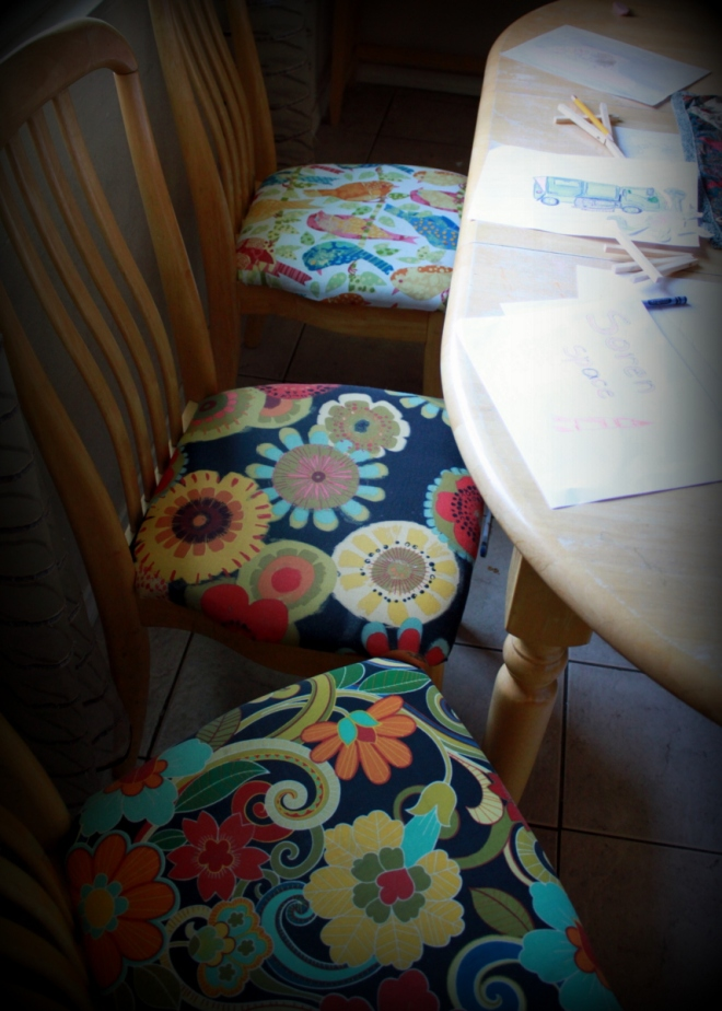 Mix and match new chairs