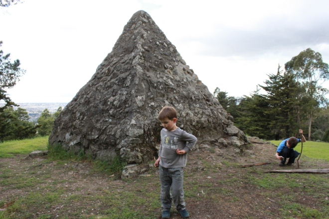 Pyramid to Moses, Joaquin Miller Park