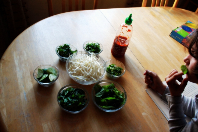 Phở  toppings