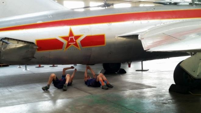 Future airplane mechanics
