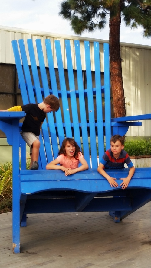 Soren, Claire and Ronin at Google headquarters