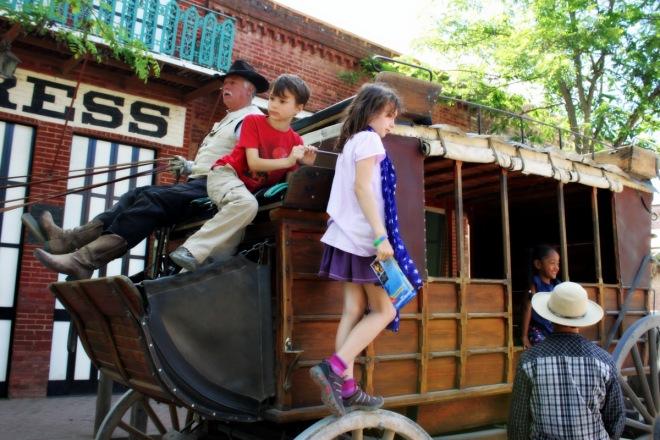 Stagecoach ride